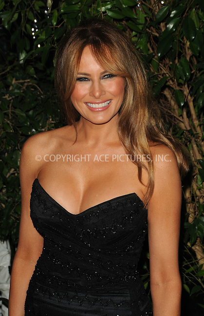 WWW.ACEPIXS.COM . . . . . ....February 25 2011, Los Angeles....Melania Trump arriving at the QVC Red Carpet Style Party at the Four Seasons Hotel at Beverly Hills on February 25, 2011 in Los Angeles, CA....Please byline: PETER WEST - ACEPIXS.COM....Ace Pictures, Inc:  ..(212) 243-8787 or (646) 679 0430..e-mail: picturedesk@acepixs.com..web: http://www.acepixs.com