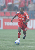 Rohan Ricketts (10) in action at  BMO Field on Saturday September 13, 2008. .The game ended in a 1-1 draw.