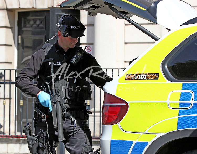Rotherham Town hall where a male has Barricaded himself in the Town Hall. All emergency services attended the Job which lasted 8 hours. Pix - Alex Roebuck