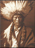 BNPS.co.uk (01202 558833)<br /> Pic: Bloomsbury/BNPS<br /> <br /> Chief Garfield from the Jacarilla tribe in 1904.<br /> <br /> Lost souls - Poignant archive reveals the lost tribes of North America in beautiful photographs from just over a century ago.<br /> <br /> A remarkable collection of photographs which give an unprecedented insight into the lives of Native Americans at a time when their land was being taken from them have emerged at auction.<br /> <br /> Between 1907 and 1930, US photographer Edward Curtis spent time with more than 80 native tribes across Native America, taking thousands of photographs as part of his groundbreaking The North American Indian project.<br /> <br /> A collection of more than 500 rare Curtis photographs are being auctioned off later this month and are expected to fetch over &pound;300,000.