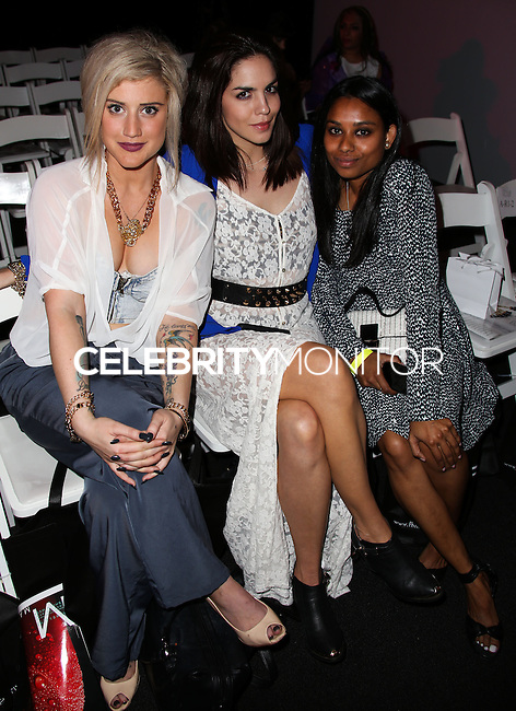 LOS ANGELES, CA, USA - MARCH 12: Katie Waissel, Katie Maloney, Jennifer Biswas at the Style Fashion Week Los Angeles 2014 7th Season - Day 4 held at L.A. Live Event Deck on March 12, 2014 in Los Angeles, California, United States. (Photo by Xavier Collin/Celebrity Monitor)