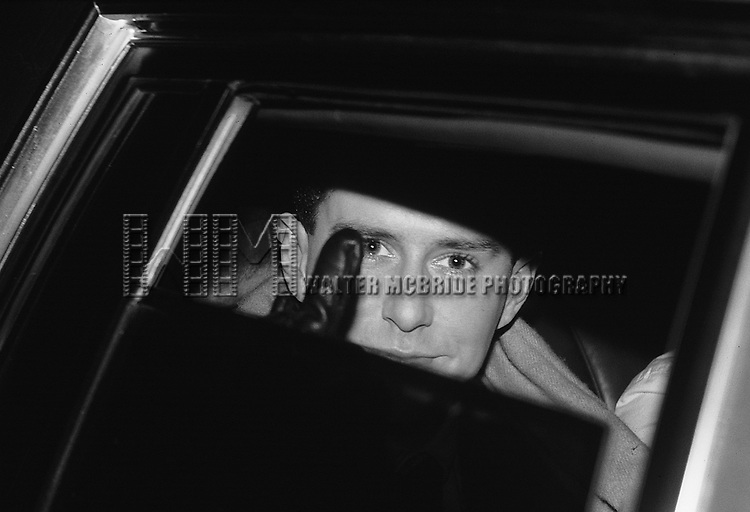 Holly Johnson of Frankie Goes to Hollywood pictured in New York City in November, 1984.