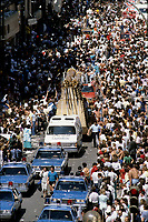 File Photo -  1986 Stanley Cup parade in downtown Montreal, May 26, 1986<br /> <br /> <br />  photo  : Pierre Roussel<br /> <br />  -  Agence Quebec Presse