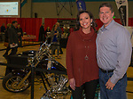 Erin and Tim Holland during the 38th Annual Jack T. Reviglio Cioppino Feed and Auction at the Boys & Girls Club in Sparks on Saturday, February 24, 2018.