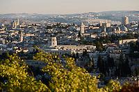 Asie/Israël/Judée/Jérusalem Vieille ville de Jérusalem depuis le mont des Oliviers