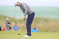 Bernd Wiesberger (AUT) putts on the 15th green during Saturday's Round 3 of the Dubai Duty Free Irish Open 2019, held at Lahinch Golf Club, Lahinch, Ireland. 6th July 2019.<br /> Picture: Eoin Clarke | Golffile<br /> <br /> <br /> All photos usage must carry mandatory copyright credit (© Golffile | Eoin Clarke)