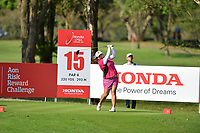 PATTAYA, THAILAND - FEBRUARY 22: Shanshan Feng of China on the 15th tee during the second round of the Honda LPGA Thailand 2019 at Siam Country Club Pattaya (Old Course), Pattaya, Thailand on February 22, 2019.<br /> .<br /> .<br /> .<br /> (Photo by: Naratip Golf Srisupab/SEALs Sports Images)<br /> .<br /> Any image use must include a mandatory credit line adjacent to the content which should read: Naratip Golf Srisupab/SEALs Sports Images
