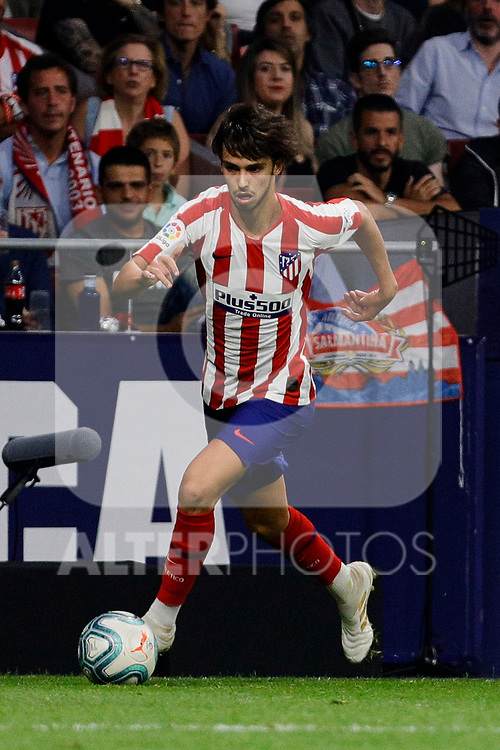 Joao Felix of Atletico de Madrid during La Liga match between Atletico de Madrid and Real Madrid at Wanda Metropolitano Stadium{ in Madrid, Spain. {iptcmonthname} 28, 2019. (ALTERPHOTOS/A. Perez Meca)