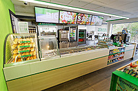 Pictured: Interior view. Wedensday 10 April 2019<br /> Re: Texaco garage on Oystermouth Road in Swansea, Wales, UK.