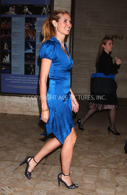WWW.ACEPIXS.COM . . . . . ....November 6 2007, New York City....TV personality and model Heidi Klum presents season four of 'Project Runway' at Lincoln Center Plaza....Please byline: KRISTIN CALLAHAN - ACEPIXS.COM.. . . . . . ..Ace Pictures, Inc:  ..(646) 769 0430..e-mail: info@acepixs.com..web: http://www.acepixs.com