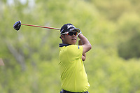 Hideki Matsuyama (JPN) on the 3rd during the 1st round at the WGC Dell Technologies Matchplay championship, Austin Country Club, Austin, Texas, USA. 22/03/2017.<br /> Picture: Golffile | Fran Caffrey<br /> <br /> <br /> All photo usage must carry mandatory copyright credit (&copy; Golffile | Fran Caffrey)