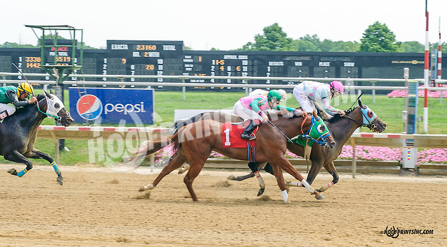 Catular winning at Delaware Park on 8/18/15