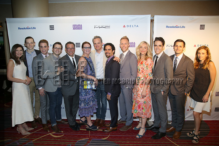 The 'Dear Evan Hansen' Team attends the 83rd Annual Drama League Awards Ceremony  at Marriott Marquis Times Square on May 19, 2017 in New York City.