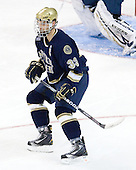 Joe Lavin  (Notre Dame - 33) - The University of Notre Dame Fighting Irish defeated the Merrimack College Warriors 4-3 in overtime in their NCAA Northeast Regional Semi-Final on Saturday, March 26, 2011, at Verizon Wireless Arena in Manchester, New Hampshire.