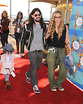 SANTA MONICA, CA. - March 14: Musician Shooter Jennings (C),actress Drea de Matteo (R) and daughter Alabama Gypsy Rose (L) attend the Make-A-Wish Foundation's Day of Fun hosted by Kevin & Steffiana James held at Santa Monica Pier on March 14, 2010 in Santa Monica, California.