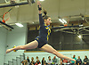 Jenny Mullan of Massapequa performs on the balance beam during the Nassau County varsity gymnastics team championship at Berner Middle School in Massapequa on Thursday, Feb. 15, 2018.