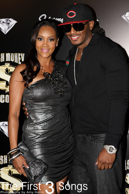 VIVICA A. FOX and OMAR SLIM WHITE attend the Cash Money Records Annual Pre-Grammy Awards Party at the Lot in West Hollywood on Saturday, February 12, 2011.
