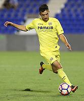 Villarreal's Nicola Sansone during the XXXVII trophy of Legane's City between CD Leganes and Villarreal CF at Butarque Stadium. August 13, 2016. (ALTERPHOTOS/Rodrigo Jimenez) /NORTEPHOTO