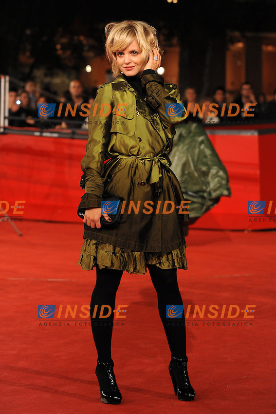 Mena Suvari<br /> Third edition of the Rome International film festival<br /> Roma 26/10/2008 <br /> Red Carpet  'The Garden of Eden&quot;<br /> Photo Andrea Staccioli Insidefoto