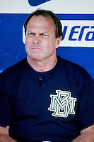 Milwaukee Brewers Manager Jim Lefebvre before a 1999 Major League Baseball season game against the Los Angeles Dodgers in Los Angeles, California. (Larry Goren/Four Seam Images)