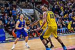 Brad LOESING (#35 EWE Baskets Oldenburg) \Adam WALESKOWSKI (#19 MHP Riesen Ludwigsburg) \Adika PETER-MCNEILLY (#10 MHP Riesen Ludwigsburg) \ beim Spiel MHP RIESEN Ludwigsburg - EWE Baskets Oldenburg.<br /> <br /> Foto &copy; PIX-Sportfotos *** Foto ist honorarpflichtig! *** Auf Anfrage in hoeherer Qualitaet/Aufloesung. Belegexemplar erbeten. Veroeffentlichung ausschliesslich fuer journalistisch-publizistische Zwecke. For editorial use only.