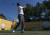 Ricardo Gonzalez (ARG) off the second tee during the practice day ahead of the Tshwane Open 2015 at the Pretoria Country Club, Waterkloof, Pretoria, South Africa. Picture:  David Lloyd / www.golffile.ie. 10/03/2015