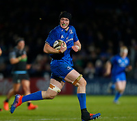 28th February 2020; RDS Arena, Dublin, Leinster, Ireland; Guinness Pro 14 Rugby, Leinster versus Glasgow; Ryan Baird of Leinster makes a run upfield