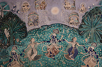 23.11.2010 Bundi (palace)<br /> <br /> Old paintings of the Chitrasala<br /> <br /> Vieilles peintures du Chitrasala.