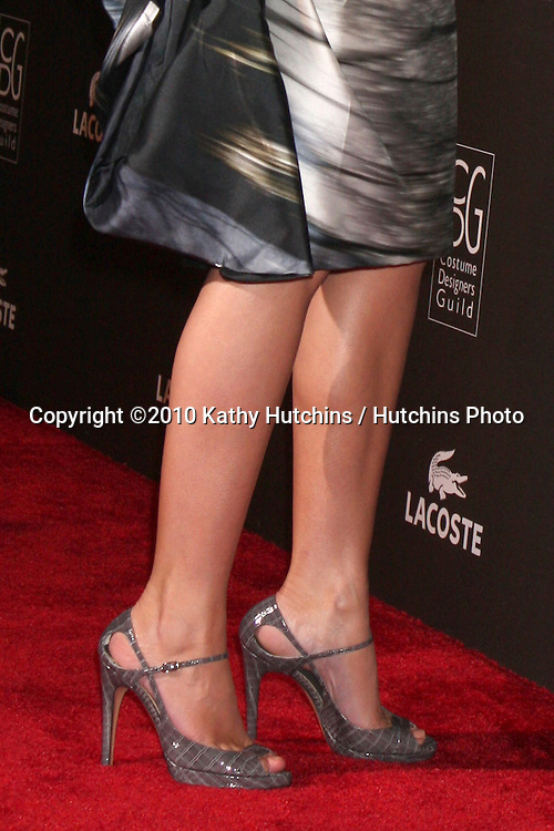 Emily Blunt.arriving at the 2010 Costume Designer's Guild Awards.Beverly Hilton Hotel.Beverly Hills, CA.February 25, 2010.©2010 Kathy Hutchins / Hutchins Photo....