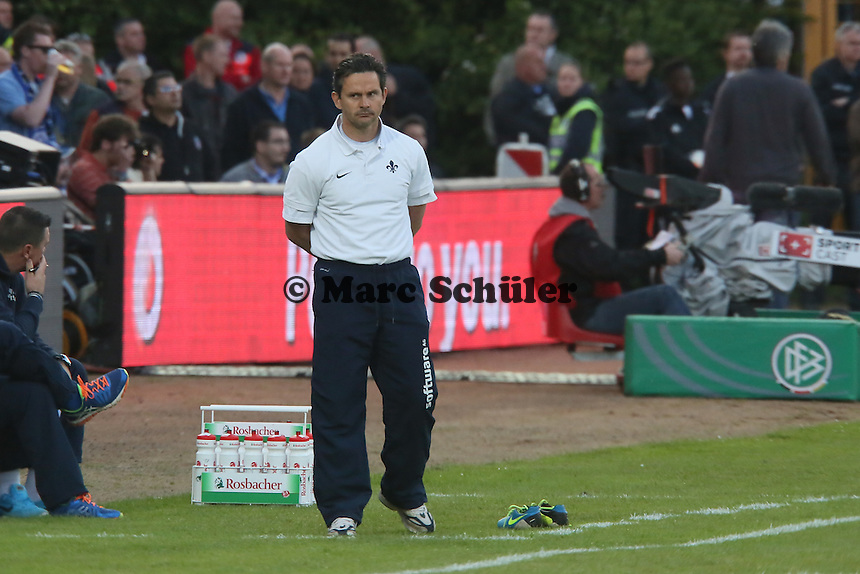 Trainer Dirk Schuster (SV98) - SV Darmstadt 98 vs. Armina Bielefeld, Stadion am Böllenfalltor