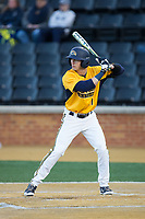 Mason Mamarella (11) of the Kent State Golden Flashes at bat against the Wake Forest Demon Deacons in game two of a double-header at David F. Couch Ballpark on March 4, 2017 in  Winston-Salem, North Carolina.  The Demon Deacons defeated the Golden Flashes 5-0.  (Brian Westerholt/Four Seam Images)
