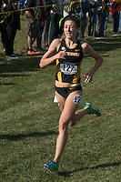 Mizzou senior Nicole Mello (Hickman High School) flies to the finish, taking 20th in 20:44 in the Women's 6k at the 2016 NCAA Division I Cross Country Midewest Regional in Iowa City, Ia. Friday, November 11. Mello was one of four Tigers to place in the top 25 and receive All-Region honors, helping Mizzou to the team victory and their first NCAA National Championship Meet since 2004.