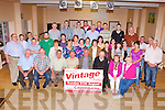 The hard working volunteers who are busy preparing for the Mid Kerry Vintage Rally which will be held in Castlemaine on Sunday 25th August at a meeting in Castlemaine Community Centre on Tuesday night