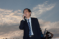 2013 Naoto Kan at anti-nuke protest