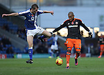 Leon Clarke of Sheffield Utd during the English Football League One match at Proact Stadium, Chesterfield. Picture date: November 13th, 2016. Pic Jamie Tyerman/Sportimage