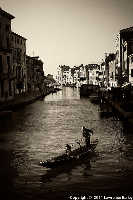There are about 450 bridges in Venice, but sometimes there aren't enough. Just getting to the other side of a canal can sometimes mean a boat ride.