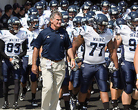 Maine head coach Jack Cosgrove. The Pitt Panthers beat the Maine Black Bears 35-29 at Heinz Field, Pittsburgh, PA on September 10, 2011.