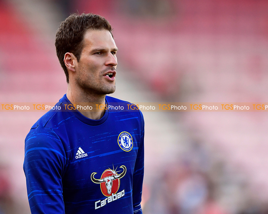 Asmir Begovic  of Chelsea a possible ransomer target for AFC Bournemouth during AFC Bournemouth vs Chelsea, Premier League Football at the Vitality Stadium on 8th April 2017