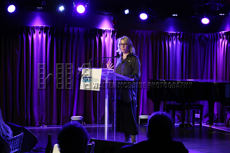 Laura Penn on stage during the Second Annual SDCF Awards, A celebration of Excellence in Directing and Choreography, at the Green Room 42 on November 11, 2018 in New York City.