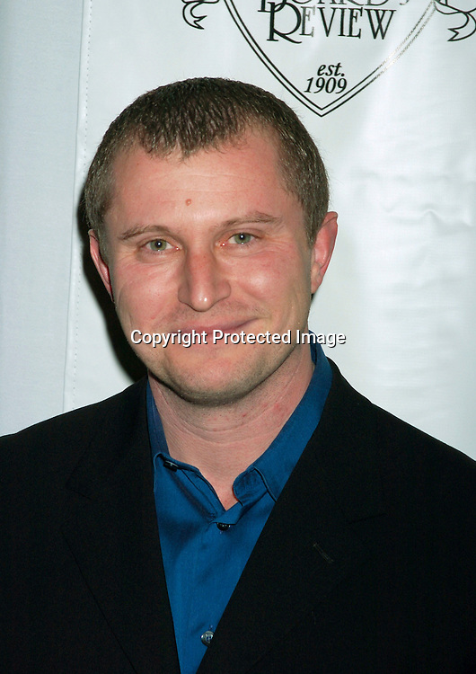 Vadim Perelman..at the National Board of Review of Motion Pictures 2003 Annual Awards Gala on January 13, 2003 at The Tavern on the Green. Photo by Robin Platzer, Twin Images