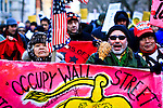 OWS protest in New York