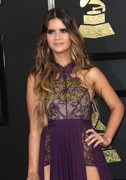 12 February 2017 - Los Angeles, California - Maren Morris. 59th Annual GRAMMY Awards held at the Staples Center.  <br /> CAP/ADM<br /> &copy;ADM/Capital Pictures