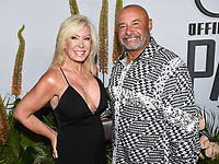 "09 July 2019 - Los Angeles, California - Grant Fuhr, Lisa Fuhr. ESPN ""The ESPYS Official Pre-Party"" held at the Hotel Figueroa. Photo Credit: Billy Bennight/AdMedia"