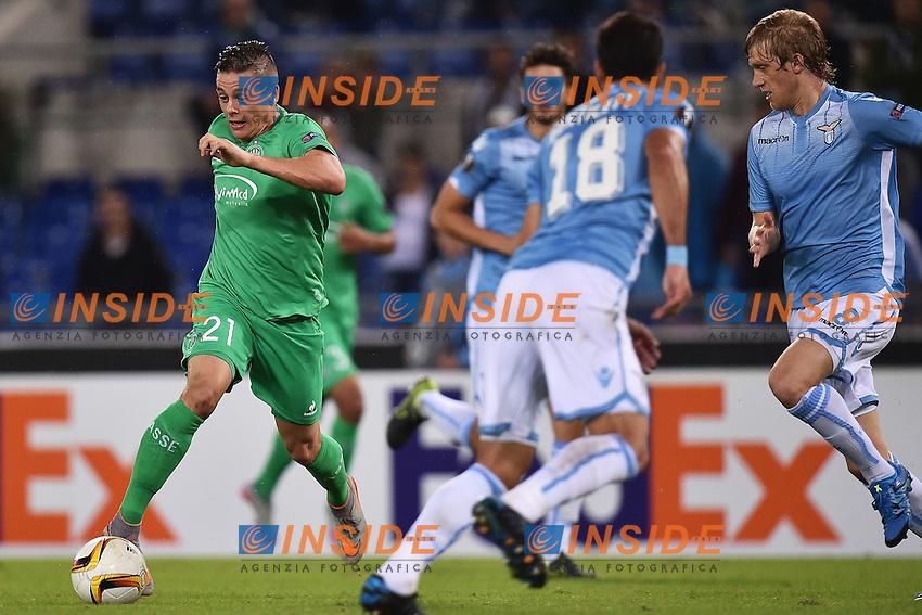 Romain Hamouma St Etienne <br /> Roma 01-10-2015 Stadio Olimpico Football Calcio Europa League Lazio - Saint Etienne Foto Andrea Staccioli / Insidefoto