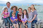....FAMILY: A family day out for the Quirke Family from Farmers Bridge, Tralee as they went to the Fenit bRegatta on Sunday to raise funds for the RN:LI, L-r: Kevin, Megan, Grace,Olivia Laura, Caitlin,Niamh and Vera Quirke...... ..