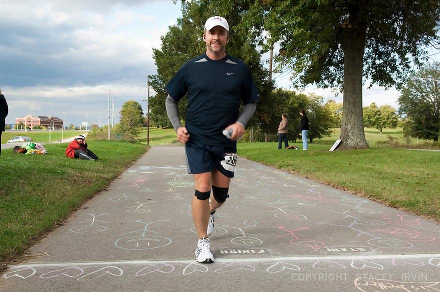 2009 Nashville Ultra Marathon finish line.