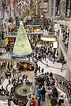 Toronto Eaton Centre on Boxing Day. Toronto, Ontario, Canada.