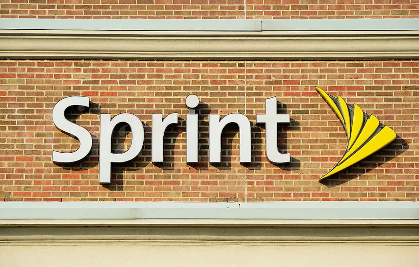 Sprint sign logo.