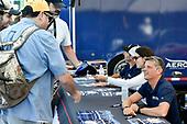 IMSA WeatherTech SportsCar Championship<br /> Michelin GT Challenge at VIR<br /> Virginia International Raceway, Alton, VA USA<br /> Sunday 27 August 2017<br /> 86, Acura, Acura NSX, GTD, Oswaldo Negri Jr., Jeff Segal, 93, Andy Lally, Katherine Legge sign autographs for fans<br /> World Copyright: Scott R LePage<br /> LAT Images