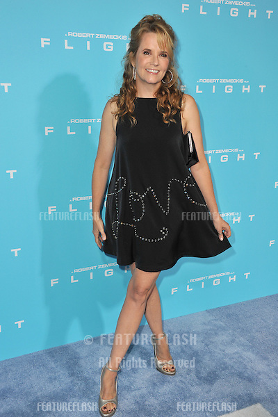"Lea Thompson at the Los Angeles premiere of ""Flight"" at the Cinerama Dome, Hollywood..October 23, 2012  Los Angeles, CA.Picture: Paul Smith / Featureflash"